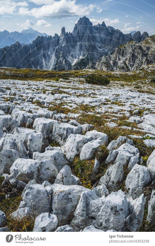 Cadini di Misurina in the Dolomites, Italy, Europe dolomites italy cadini misurina trentino mountain travel tourism beautiful rock peak nature landscape scenic