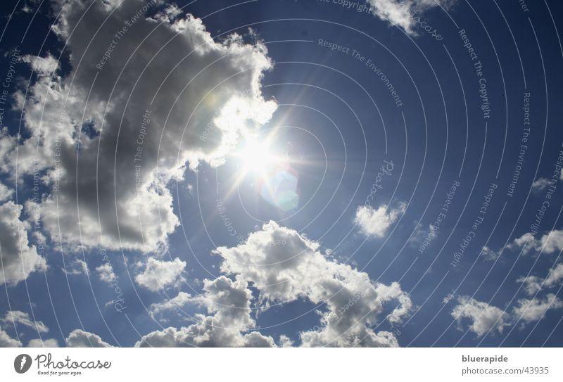 Beautiful Sky Sun Blue Summer Beach Clouds Dark Gray Warmth Graffiti Bright Lighting Physics Hot Thunder and lightning