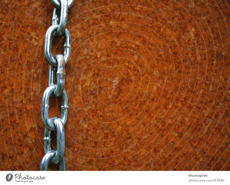 Chain #1 Steel All-weather Glittering Barbecue (apparatus) Leisure and hobbies Rust Orange Contrast silver Limbs New