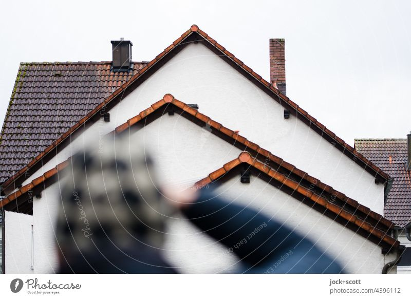See + photograph gables Gable roofs Structures and shapes Roof House (Residential Structure) Architecture Franconia pediment Chimney Silhouette Photographer Cap