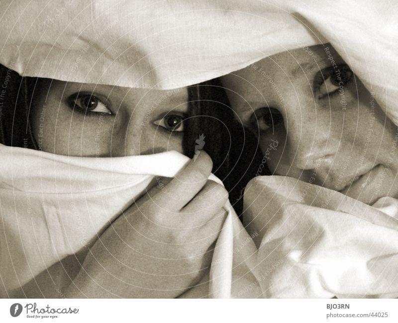 eyes - eyes Woman Playing Timidity Beautiful Hand Eyes Rag hide-and-seek Face
