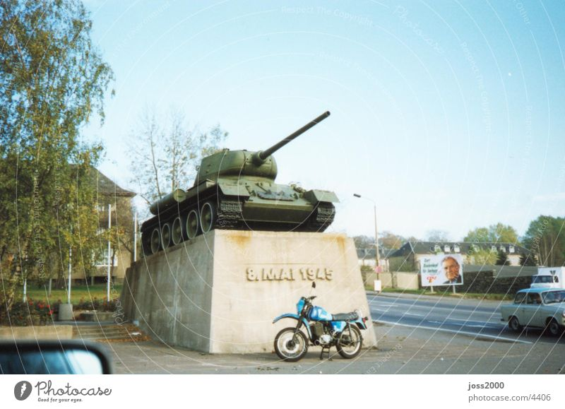 Chemnitz Tank Historic Armor-plated 1990