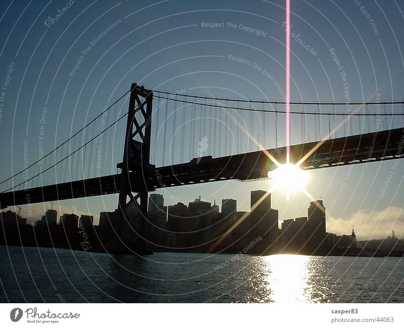 Golden Gate Golden Gate Bridge San Francisco Americas Sunset Town New York City Water