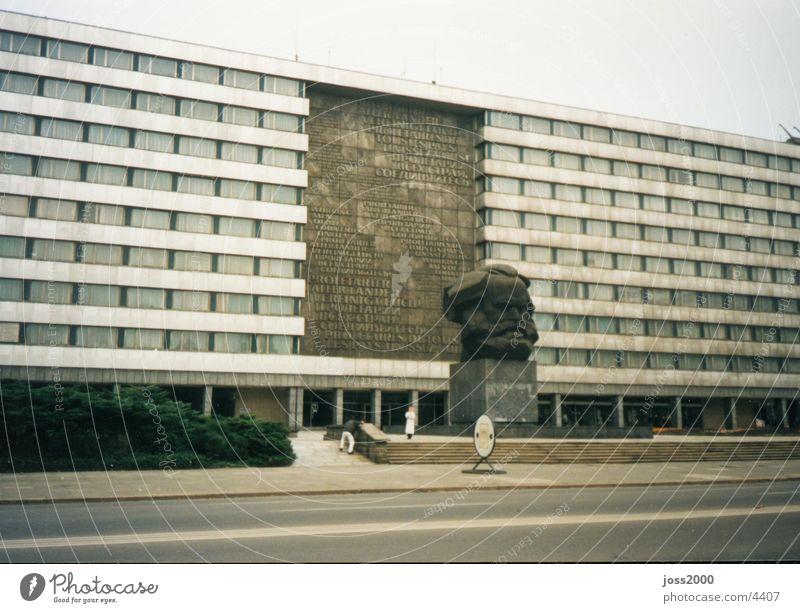 Karl-Marx in Chemnitz East GDR