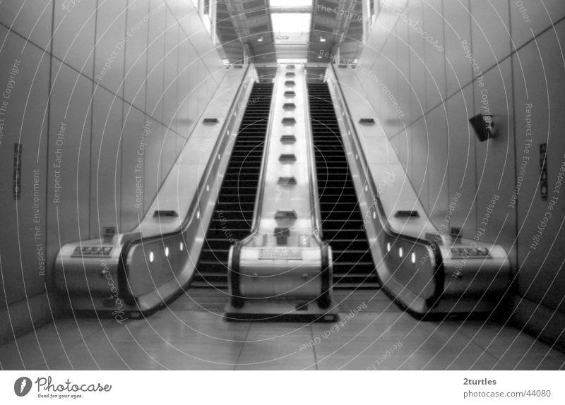 Transport Tall Stairs Train station London Upward England Downward Subsoil Escalator Canning Town