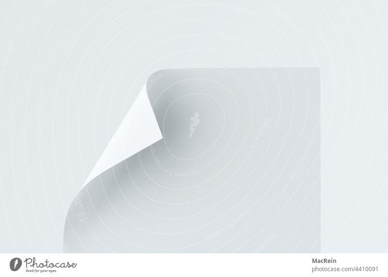 Briefpapier briefpapier schreibpapier blatt weiß leer cellulosepapier schatten hintergrund isoliert dokument notizblock abbildung vorlage büro sauber post