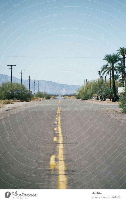 yellow line Arizona California