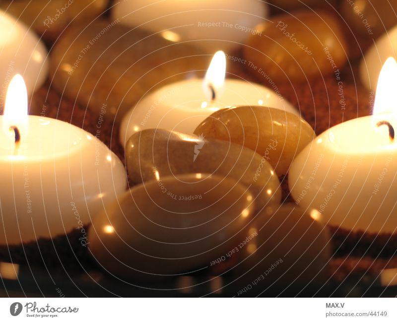 Stone Glittering Blaze Candle Near Living or residing Burn Wax Candlewick