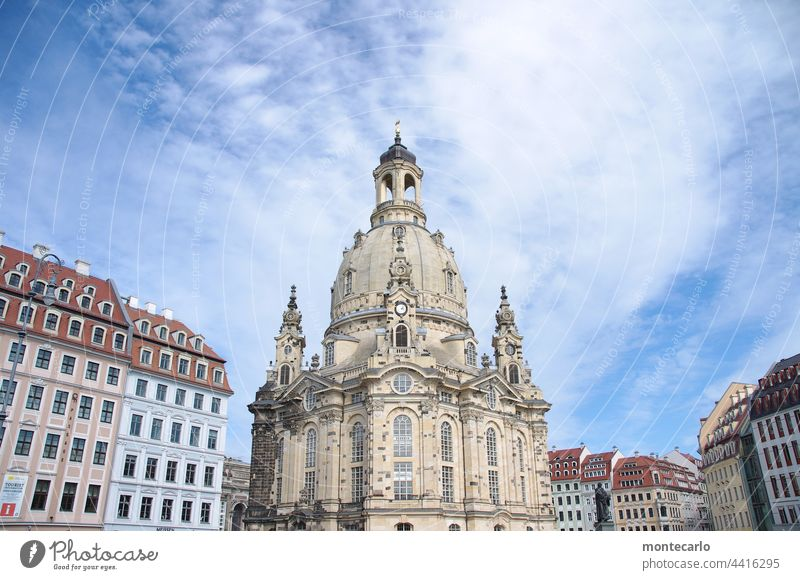 Frauenkirche Dresden | MT Dresden 2021 House of worship Sandstone Landmark Religion and faith Tourist Attraction Old town Saxony Domed roof Architecture