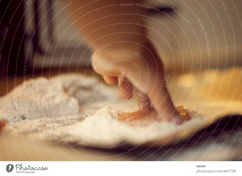 Child Hand Joy Life Boy (child) Food Infancy Fingers Nutrition Cooking & Baking Kitchen Meat Lunch 3 - 8 years Flour Prepare the food