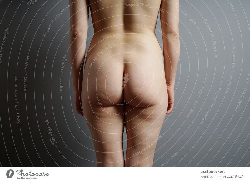 female bottom buttocks Bottom Woman's body Naked feminine Female nude Nude photography Body body part female body behind from behind Feminine Eroticism Skin