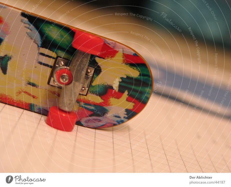 Sports Star (Symbol) Retro Desk Skateboarding Coil Mat Blotting pad