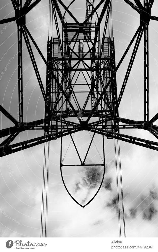 2021 07 10 San Martino di Castrozza pylon of the cable car 2 mountain dolomites italy nature transport tourism cableway sky blue transportation landscape alps