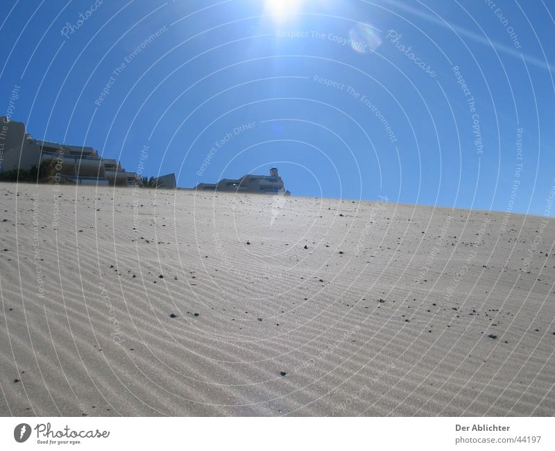 Now a cold beer! Beach Lava Fuerteventura Morro Jable Esquinzo Village Europe Sand Sky Sun Harbour Desert