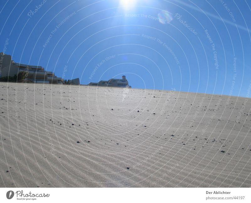 Sky Sun Beach Sand Europe Desert Harbour Village Lava Fuerteventura Esquinzo Morro Jable