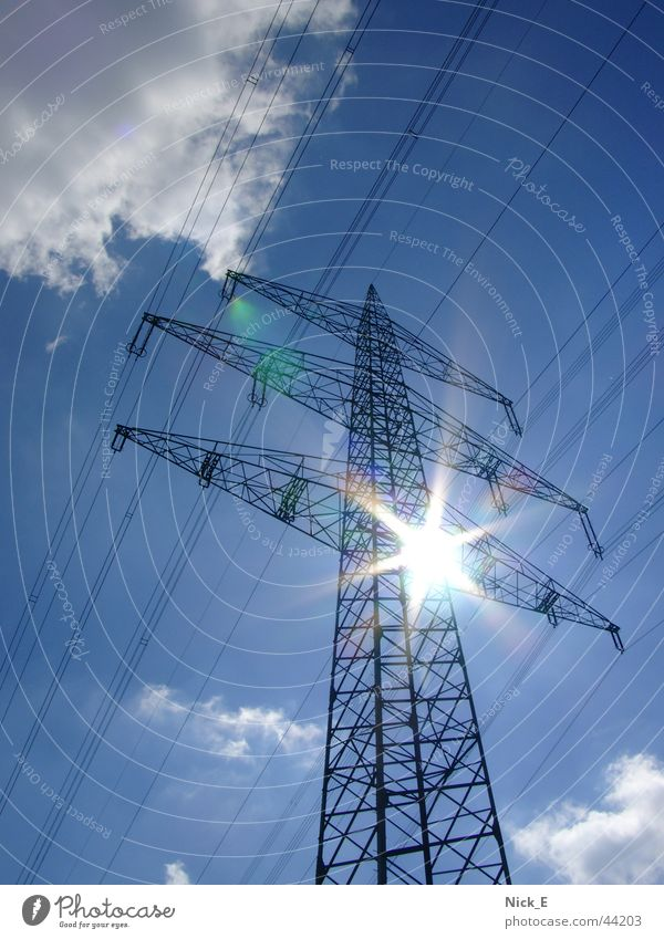 pylon Electricity pylon High voltage power line Power transmission Electrical equipment Technology UCTE