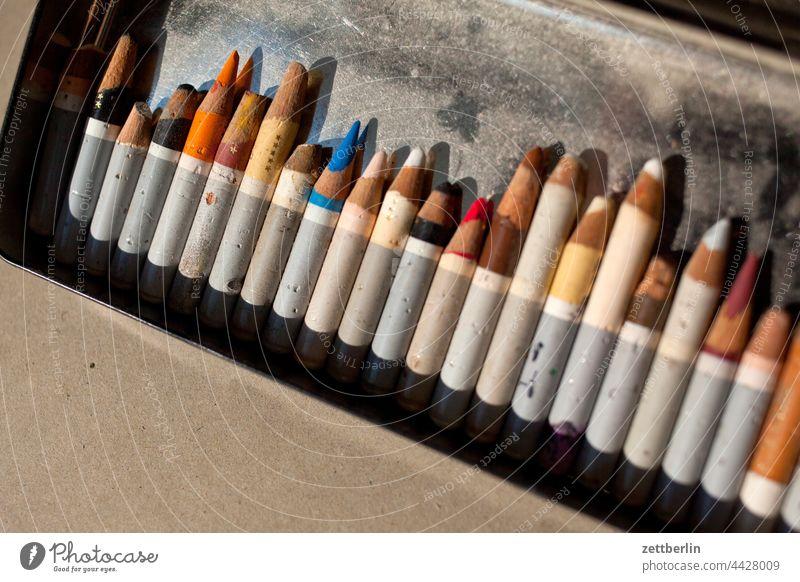 Crayon remnants variegated crayon Colour colored color calibration colour samples colour spectrum Color gradient Colour value Graphic artist illustrator