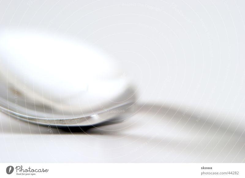 spoon Kitchen Spoon White Blur Reflection Living or residing Metal