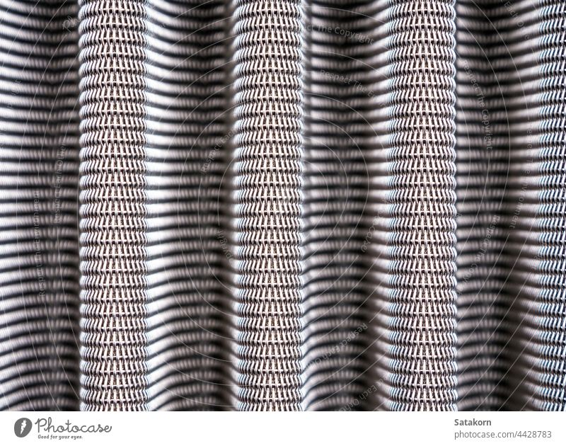 Metal grill texture of vehicle air filter grid metal detail steel pattern background abstract car industrial part iron automobile mesh