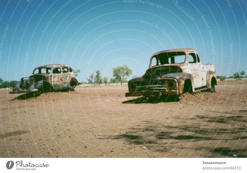Old Transport Desert Thin Decline Rust Australia Vintage car Pick-up truck Outback