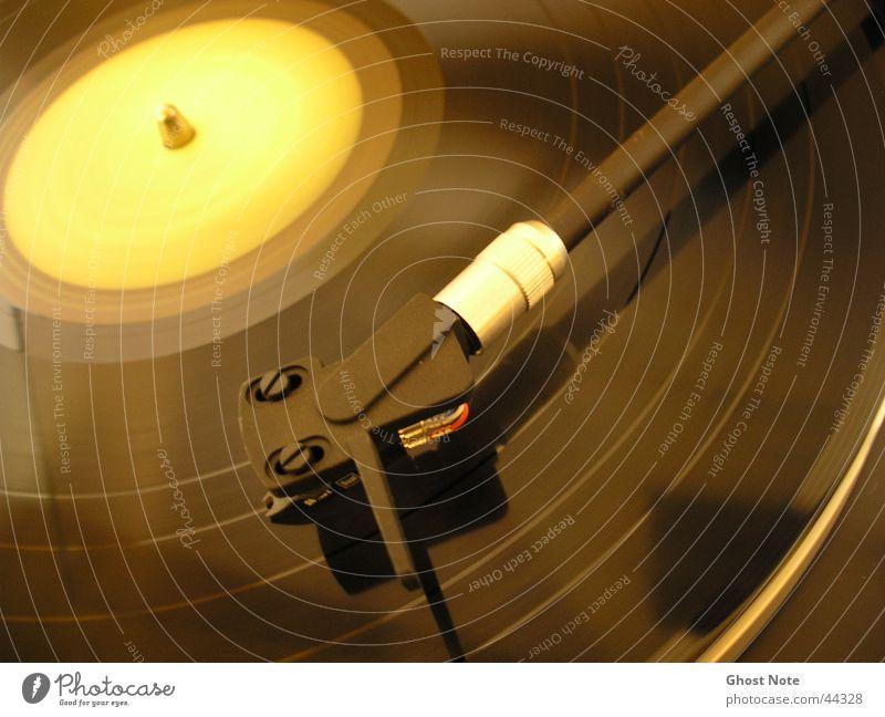 Black Yellow Music Disc jockey Pick-up head Record Entertainment Record player