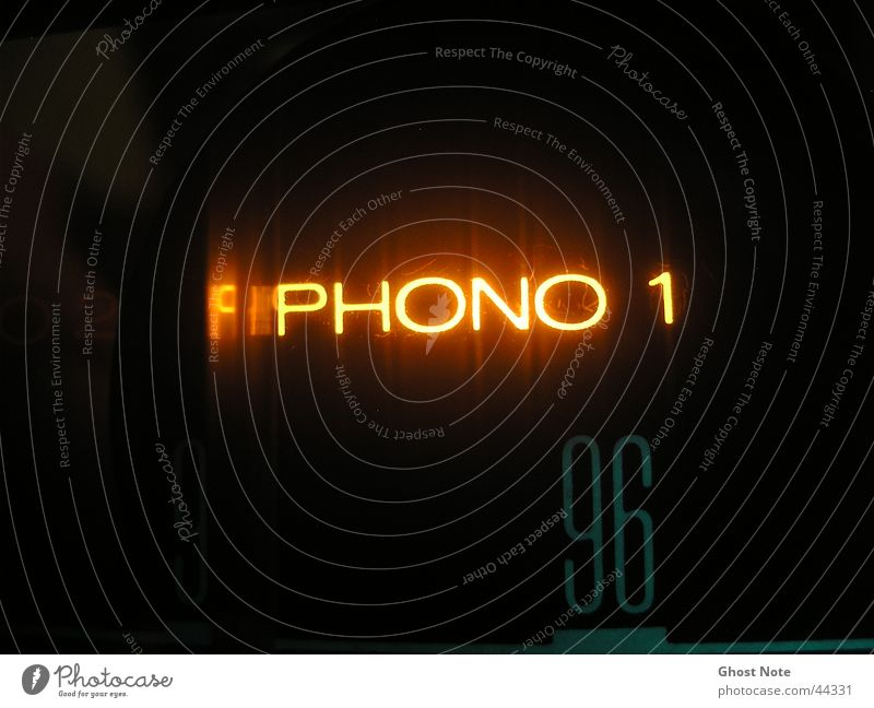 PHONO Intensifier Music Black Yellow Light Style Macro (Extreme close-up) Close-up phono Share Characters