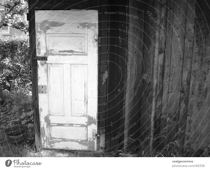 Wood Garden Door Barbecue (apparatus) Barn