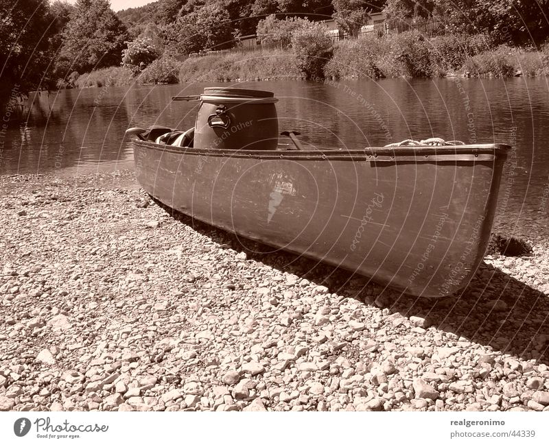 Water Watercraft River Navigation Canoe Fishing boat
