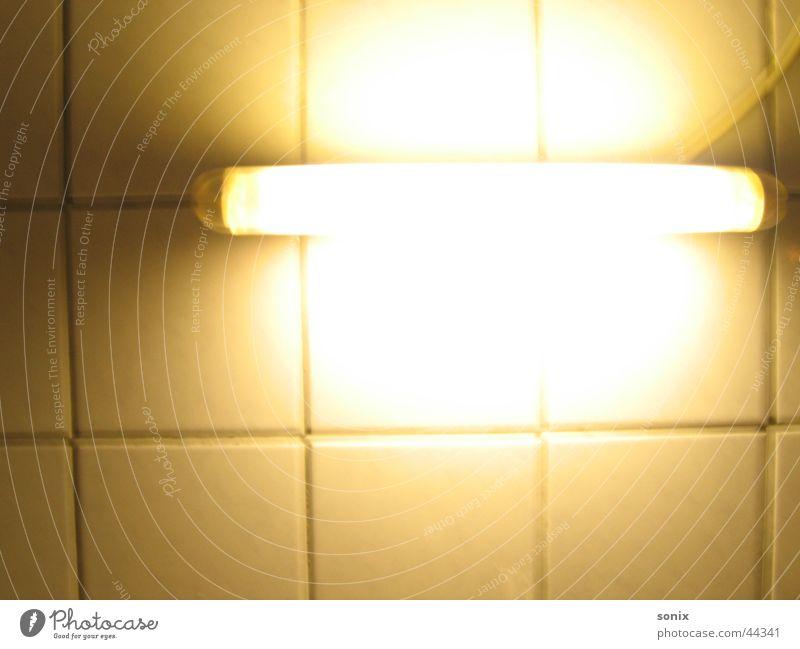 Light into the Dark Lamp Neon light Kitchen Old