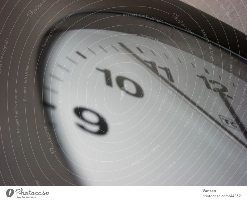 5 to 12 Clock Wall (building) Analog Living or residing Clock hand Macro (Extreme close-up) Calm