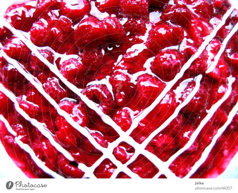 delicious, delicious! Fruit Cake Nutrition Healthy Gateau Raspberry gateau Icing Sugar Gelatin Pattern