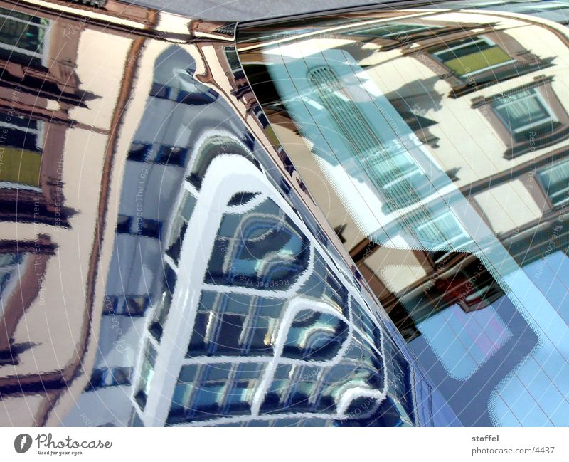 mirroring Town Reflection House (Residential Structure) Architecture Car