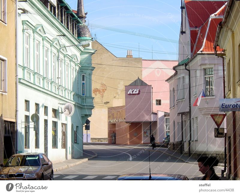 Vimperk Town House (Residential Structure) Multicoloured Architecture