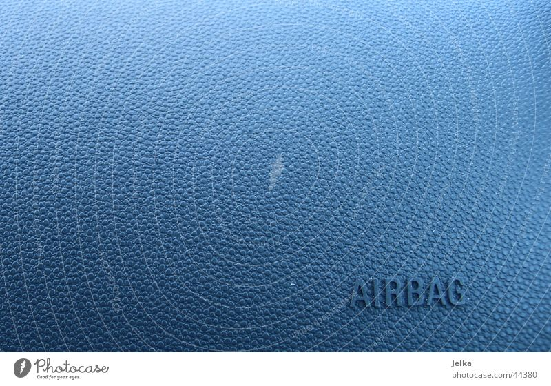 Blue Air Car Transport Burl Airbag