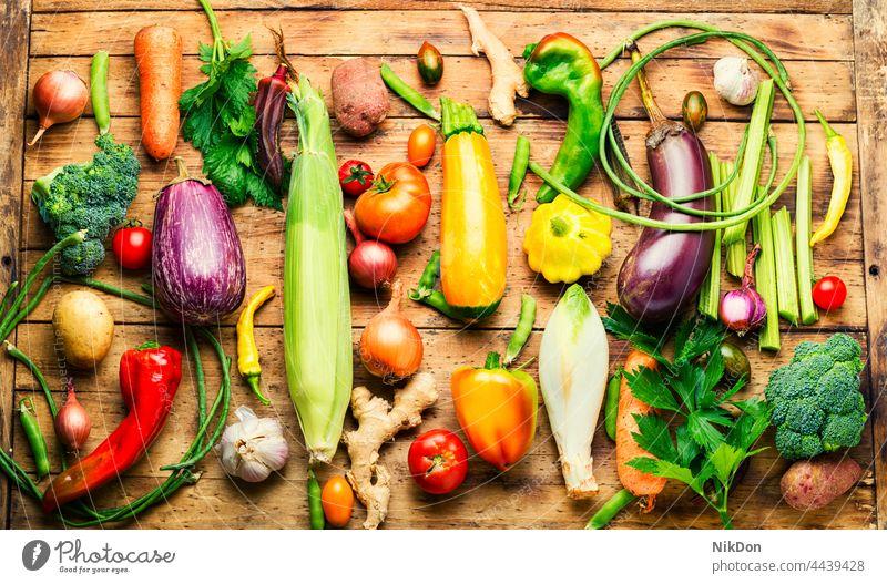 Set of raw vegetables,food background set group vegan assortment mix vegetables set fresh variety many green vegetarian vitamin tomato collection pepper