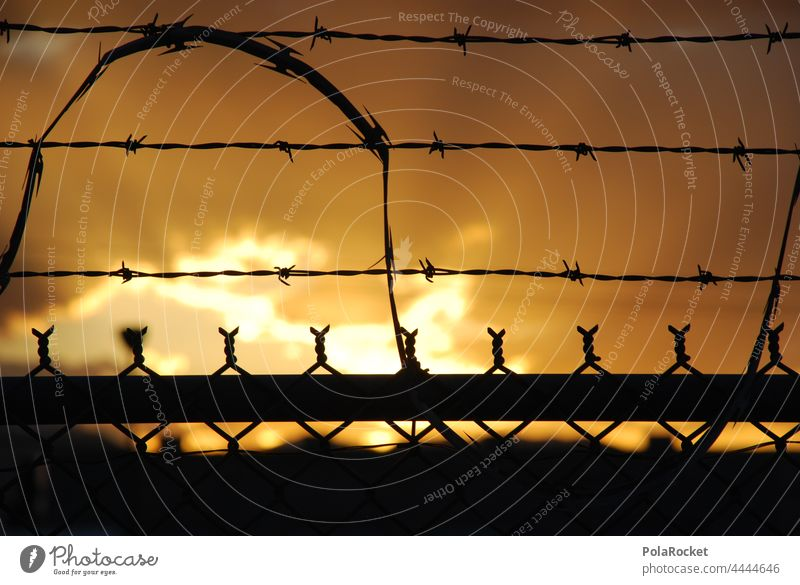 #A0# Captivity captivity jail prison break prison yard prison island prison bars prison fence Freedom Human rights Barbed wire Fence Captured Barbed wire fence