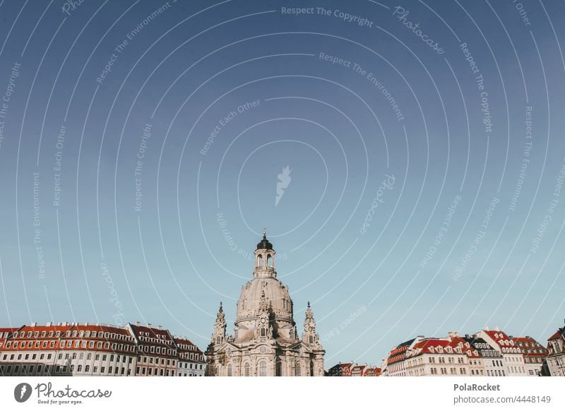#A0# Dresden's feminine charms Dresden Church of Our Lady Dresden Old Town Frauenkirche Domed roof dome Baroque Old fashioned Historic Historic Buildings