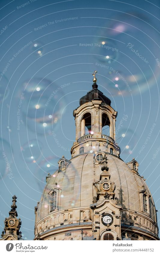 #A0# Dresden's Old Lady II Dresden Church of Our Lady Dresden Old Town Frauenkirche Domed roof dome Baroque Old fashioned Historic Historic Buildings Protestant