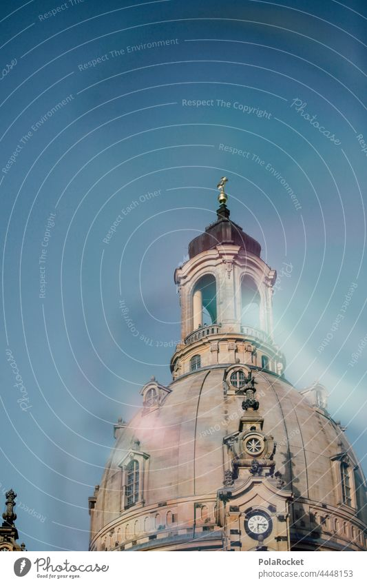 #A0# Dresden's Old Lady I Dresden Church of Our Lady Dresden Old Town Frauenkirche Domed roof dome Baroque Old fashioned Historic Historic Buildings Protestant