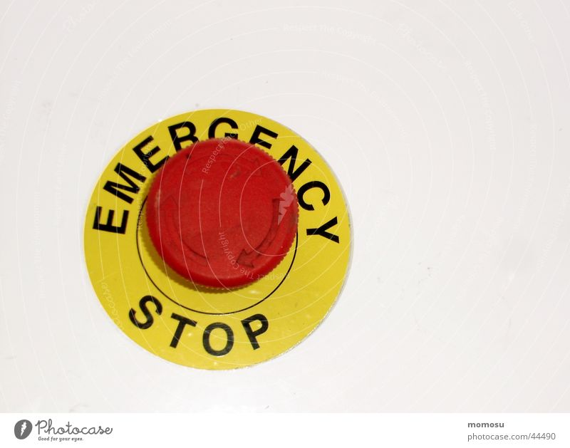 Industry Stop Buttons Switch Emergency
