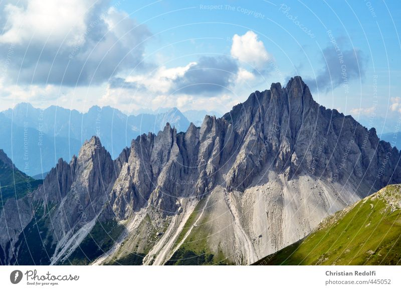 Dolomites Vacation & Travel Tourism Trip Sports Fitness Sports Training Climbing Mountaineering Environment Nature Landscape Plant Animal Elements Weather