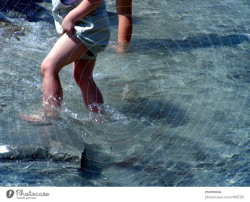 Child Water Joy Playing Feet Legs Wet Navigation Refrigeration Amusement Park