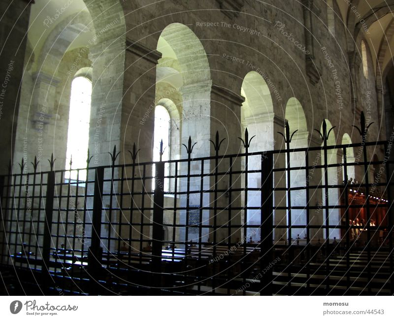 Religion and faith Column Arch Grating Monastery House of worship Federal State of Lower Austria Holy cross