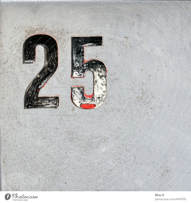 those were the days 18 - 30 years Youth (Young adults) Adults Wall (barrier) Wall (building) Door Sign Digits and numbers twenty-five House number Colour photo