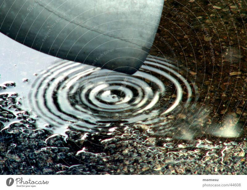 it drips.... Eaves Drainage Circle Bad weather Asphalt Living or residing Rain Varnish Water Drops of water