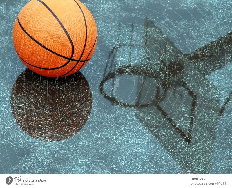 Water Sports Playing Rain Ball Leisure and hobbies Asphalt Basket Basketball