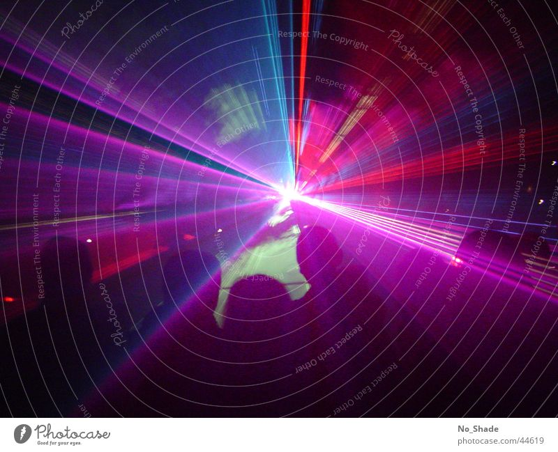 Laser 1 Light Laser show Party Disco Obscure Light (Natural Phenomenon) Party mood