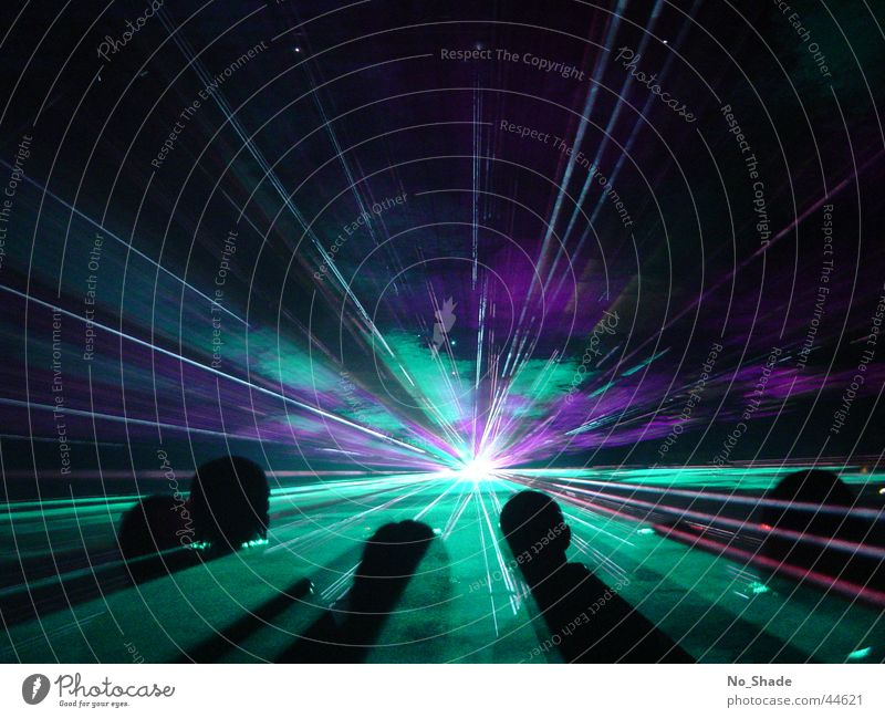 Light amplification-by-stimulated emission-of-radiation Laser Laser show Party Disco Obscure Light (Natural Phenomenon) Party mood Party goer