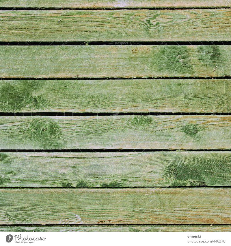 Green Wood Line Facade Wooden board Seam Wood grain