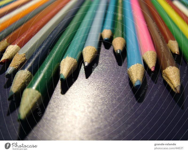 Colour Wood Painting (action, work) Desk Draw Pen Artist Crayon Colorant